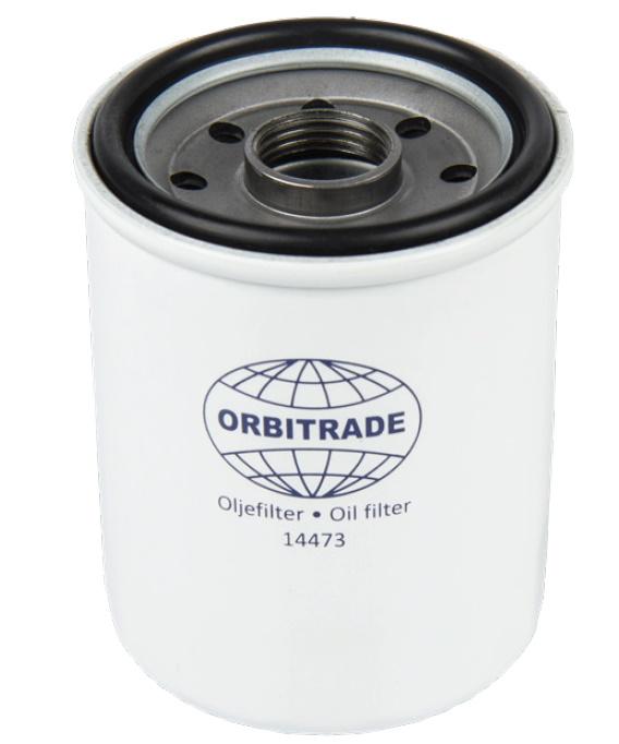 Oljefilter (14473)  D1-13A/B/F, D1-20A/B, MD2010A/B/C/D-2020A/B/C/D (alt)