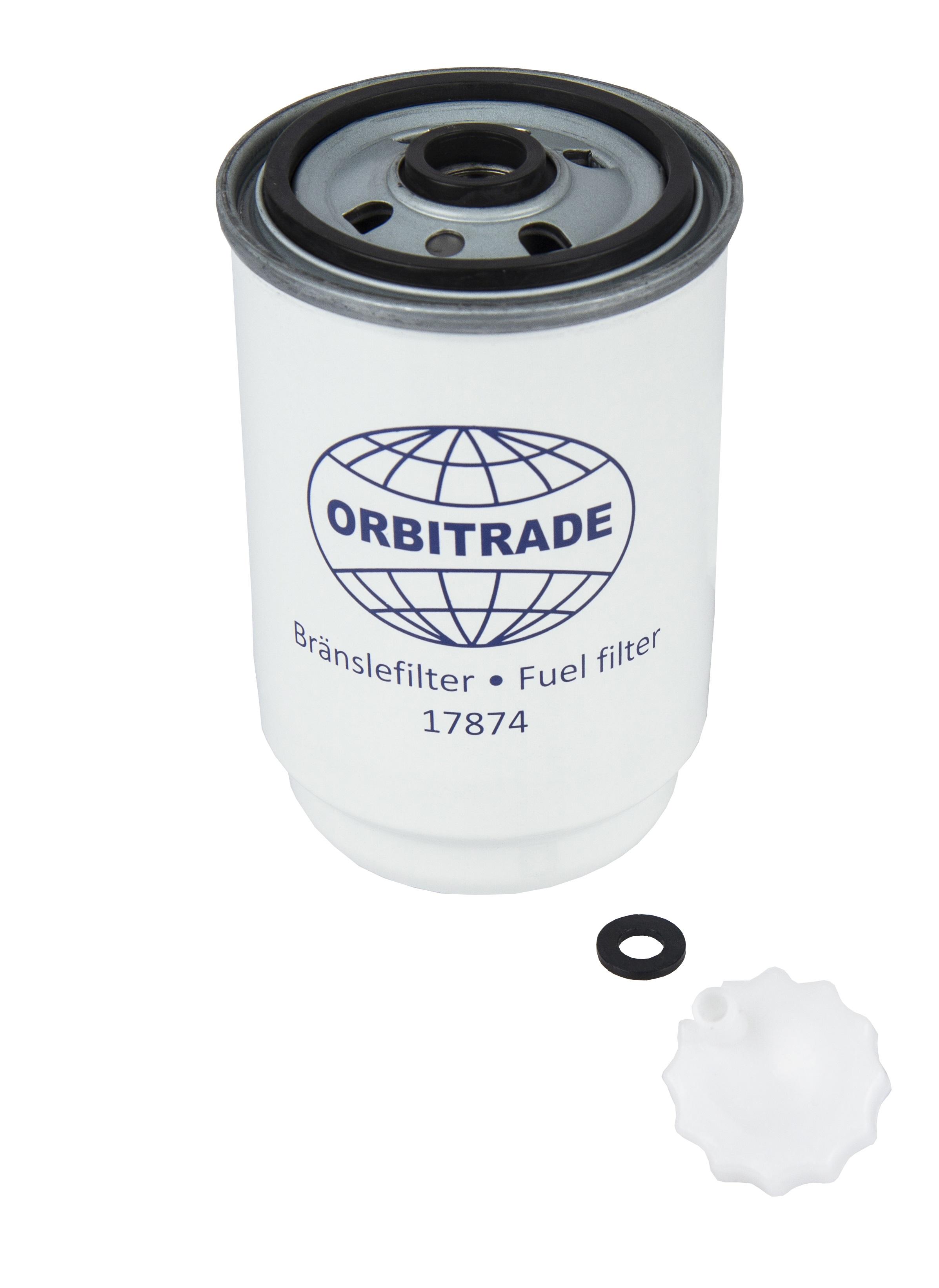 Bränslefilter till MD6, MD7 (alt), MD22, 40, 41, 42, 44, KAD300 (17874)