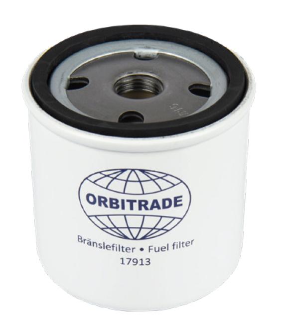 Bränslefilter MD1B, 2B, 3B, 5A, 5B, 5C, 7A, 7B, MD11C, MD17C (alt), MD17D, 2000-2003  (17913)