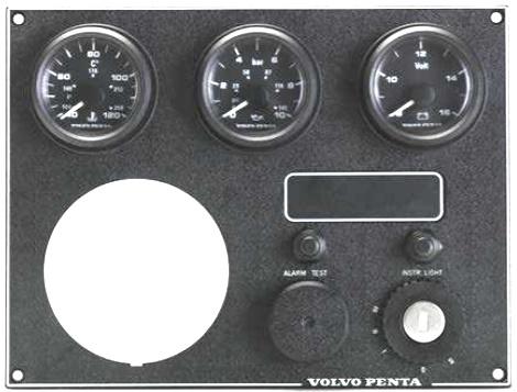 Volvo Penta motorpaneler