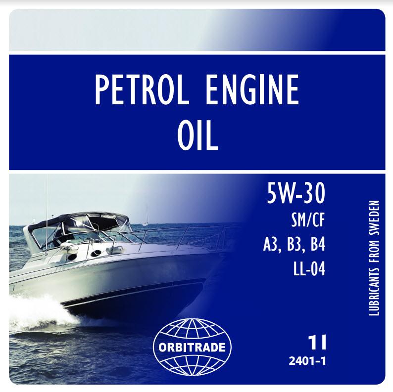Motorolja SAE 5W-30 - bensinmotorer