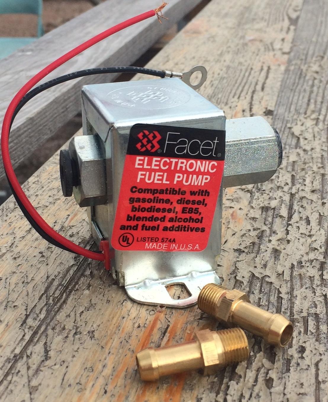 Matarpump, elektrisk 12V