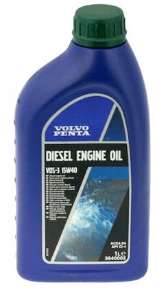 Motorolja SAE15W-40, VDS3 - till diesel och bensinmotorer flaska 1L