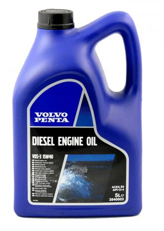 Motorolja SAE15W-40, flaska 5L
