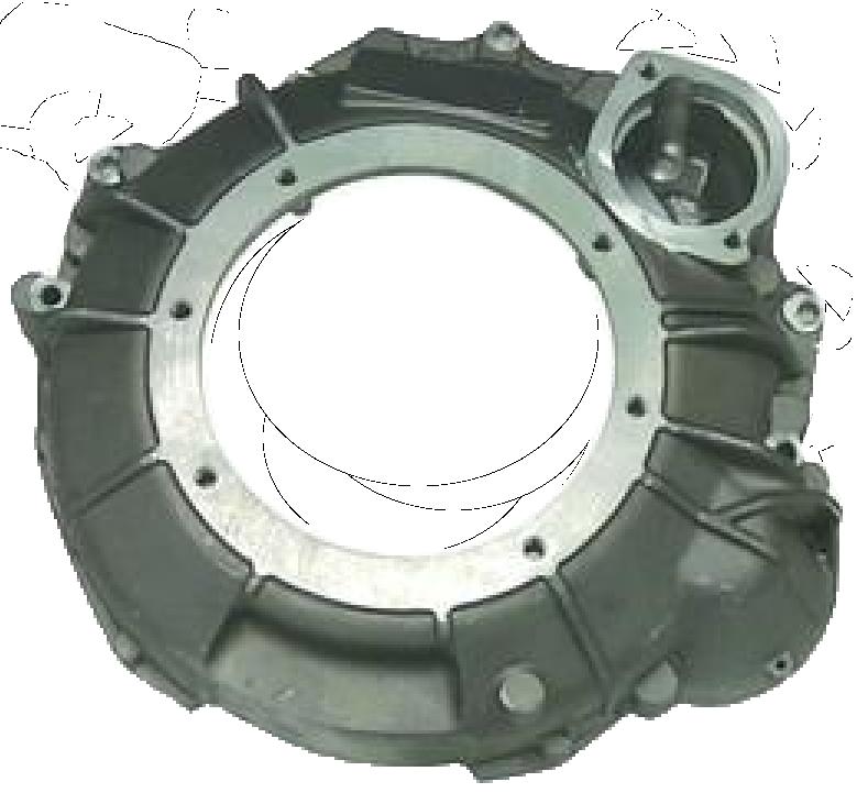 Svänghjulskåpa GM V8, 3.0