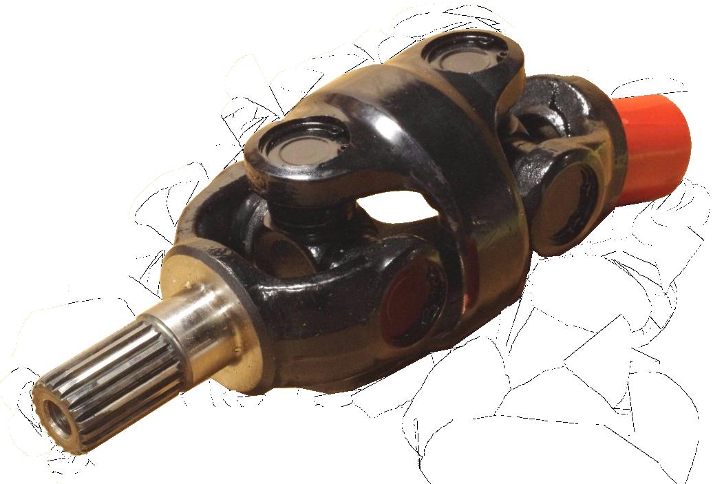 Drivknut SP-A  DP-E med fina splines