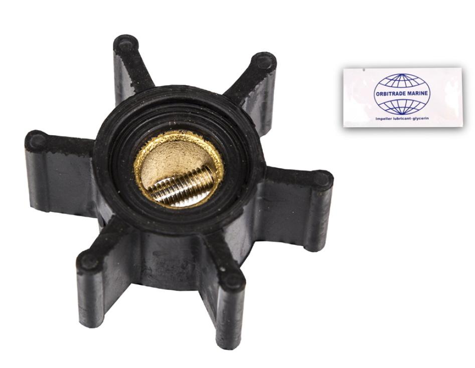 Impeller till Yanmar 2YM, 3YM, 2GM, 3GM (8-24007)