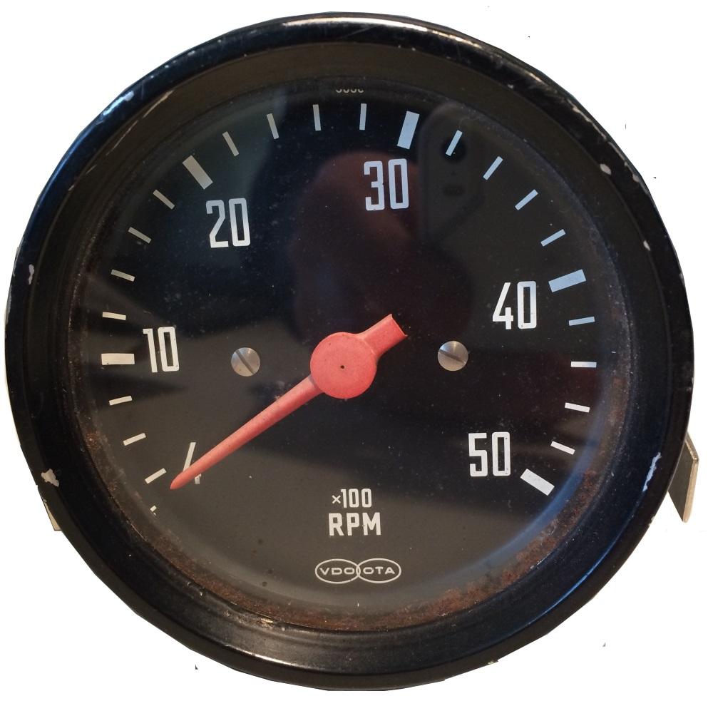 Varvräknare 0-5000 rpm