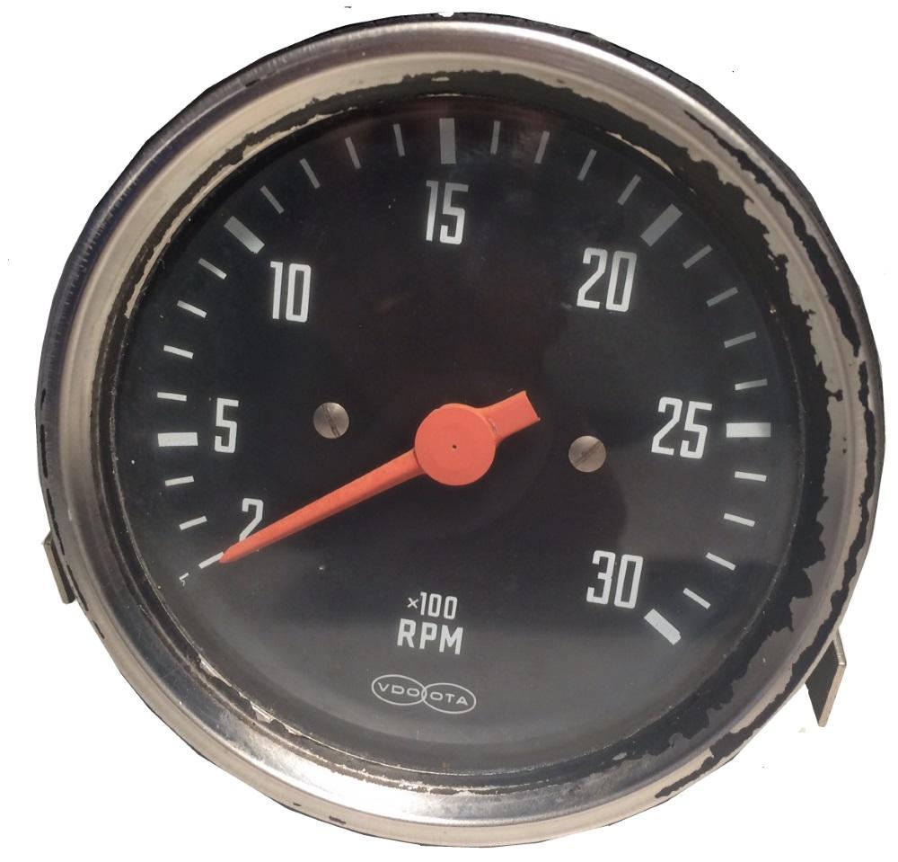 Varvräknare 0-3000 rpm
