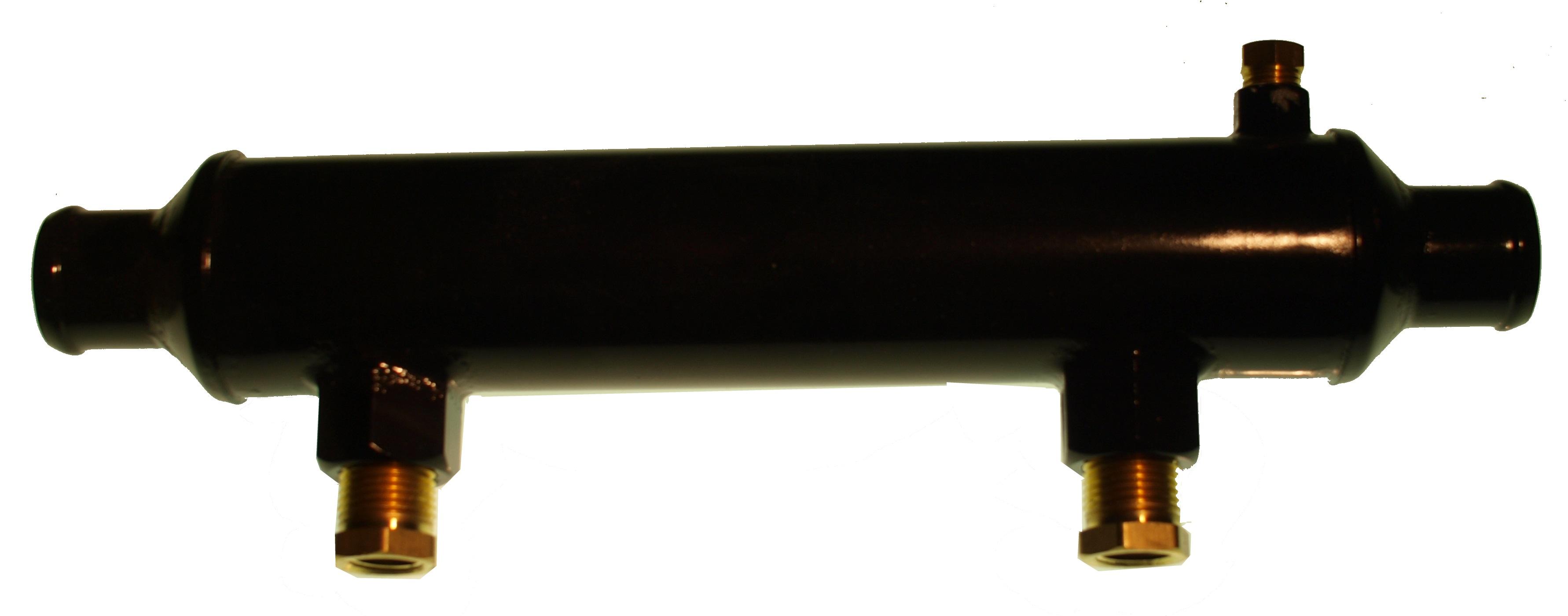Oljekylare 10 tum - 32 mm anslutning