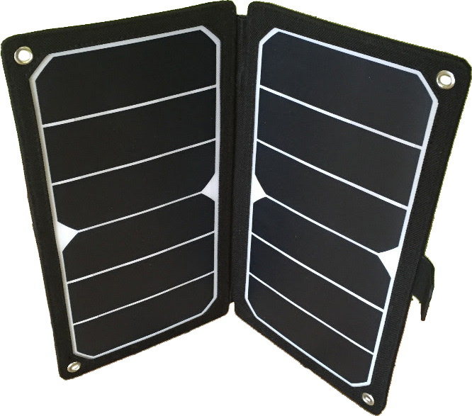 Solpanel för surfplatta - bärbar