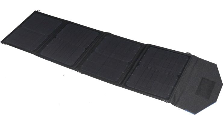 Solpanel 50W bärbar