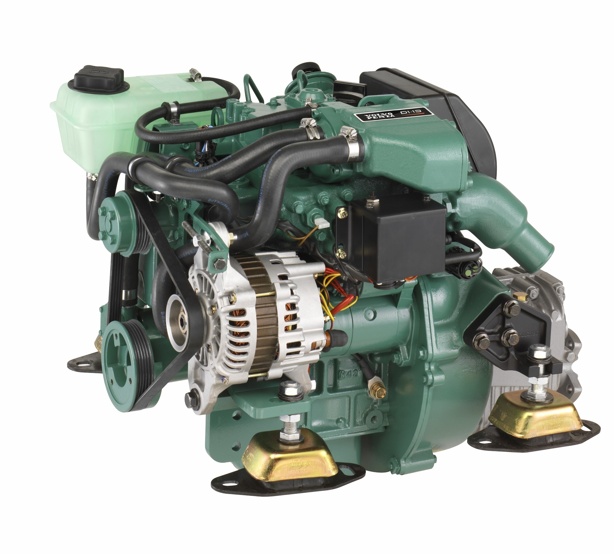Dieselmotor D1-13 med backslag MS15
