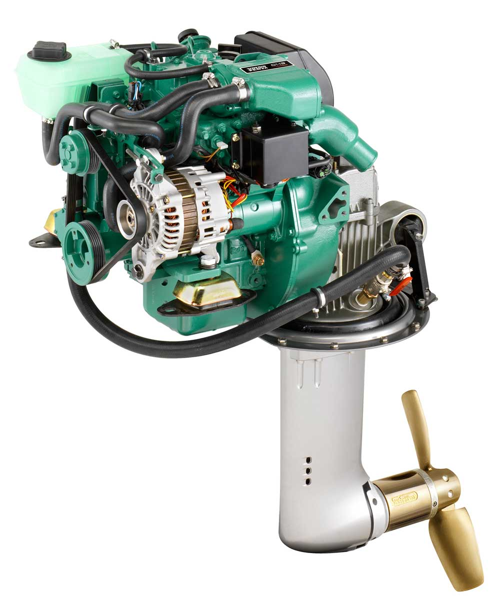 Dieselmotor D1-13 med S-drev 130S