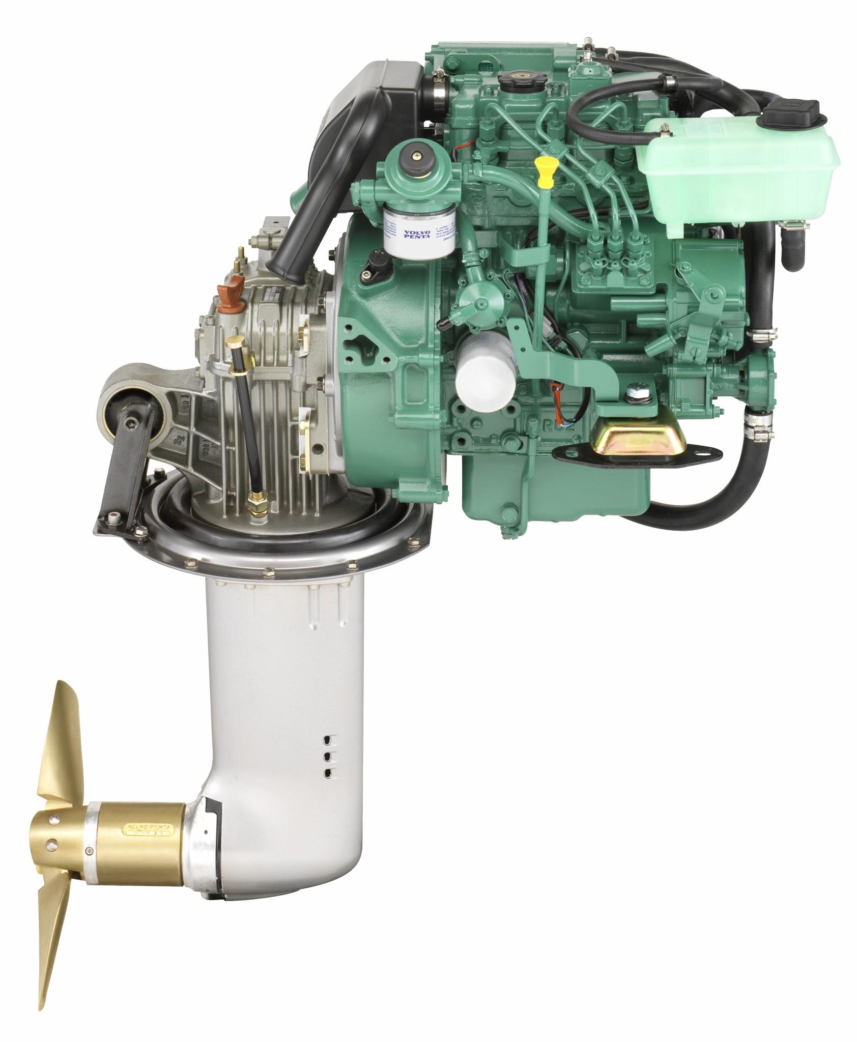 Volvo Penta Dieselmotorer