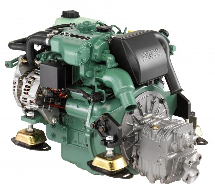 Dieselmotor D1-20 med backslag MS15
