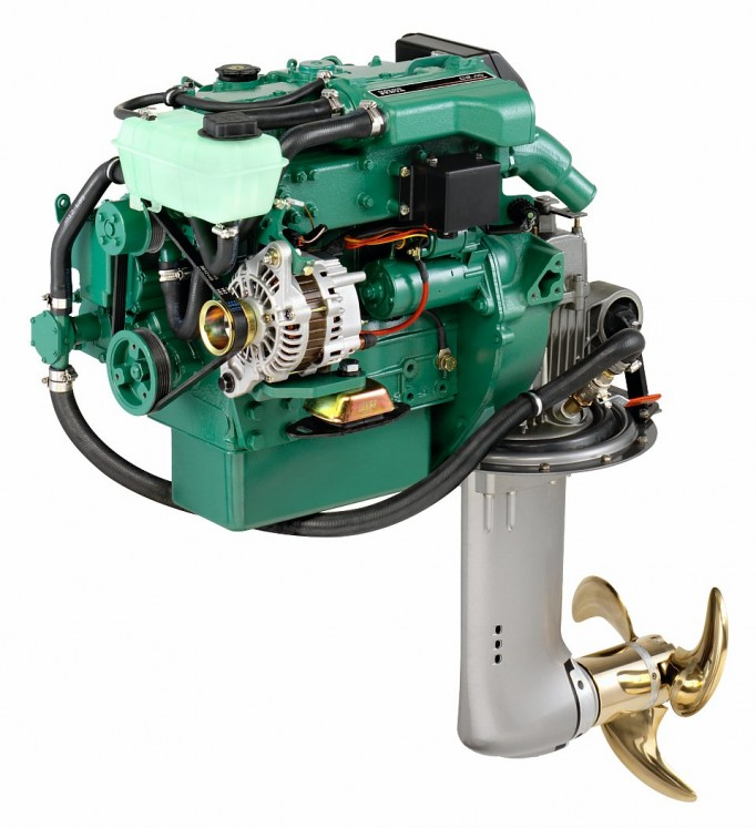 Dieselmotor D1-20 med S-drev 130S