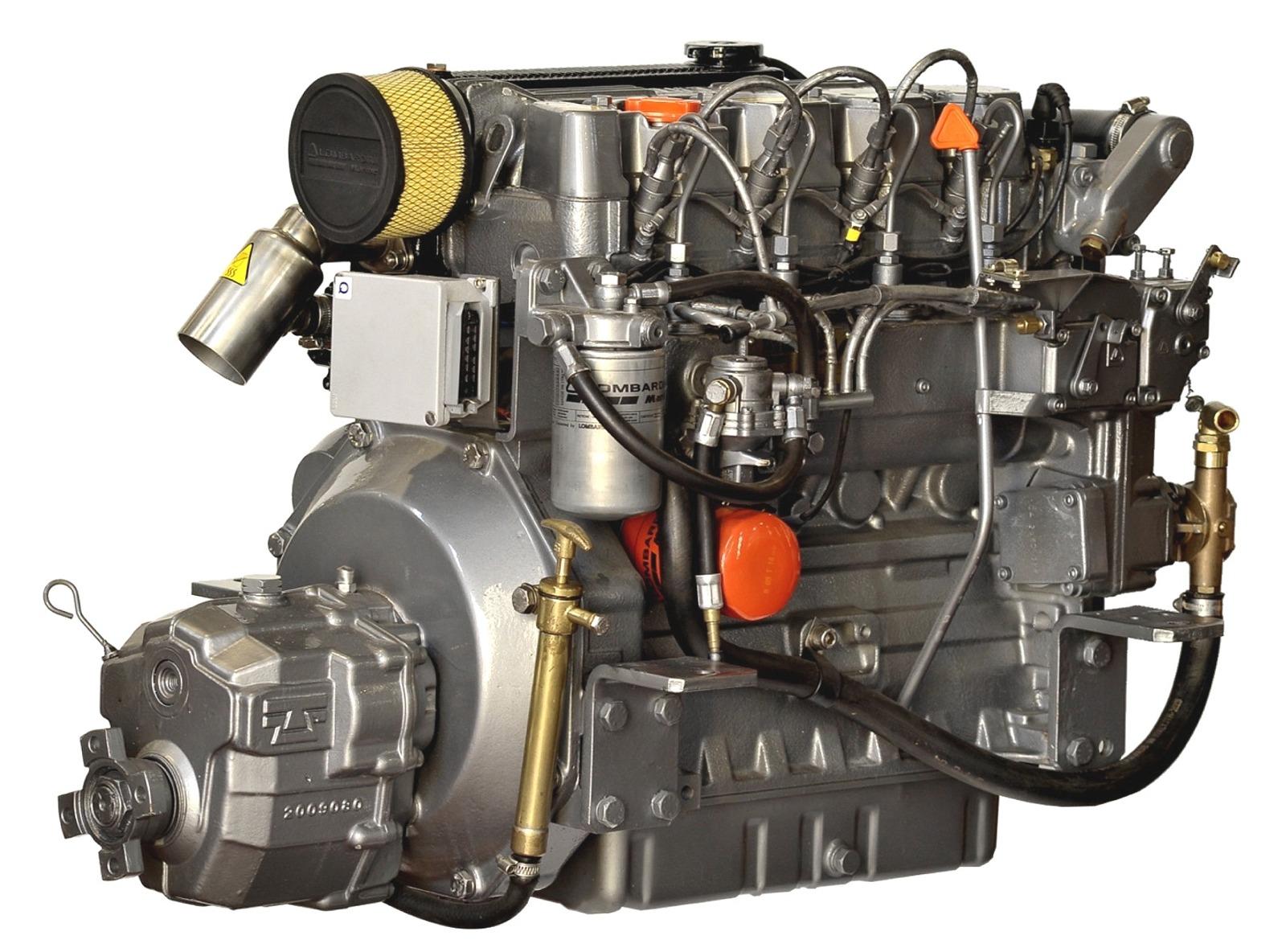 Lombardini LDW2204M, 50 hk dieselmotor med backslag TMC60