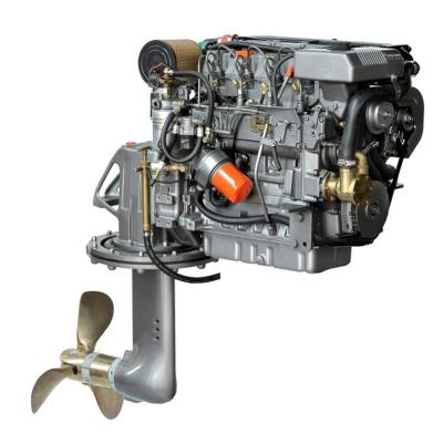 Lombardini LDW2204MT, 61 hk dieselmotor med S-drev