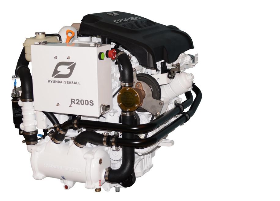 Hyundai SeasAll 200 hk, R200P / ZF45A