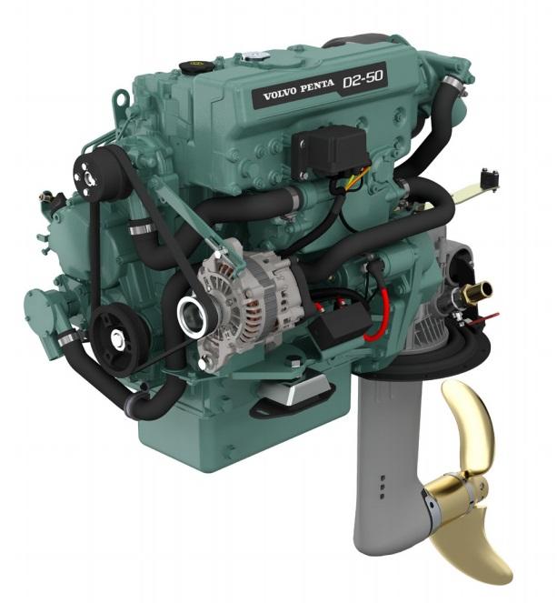 Dieselmotor D2-50 med S-drev 130S