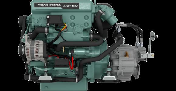 Dieselmotor D2-50 med backslag MS25