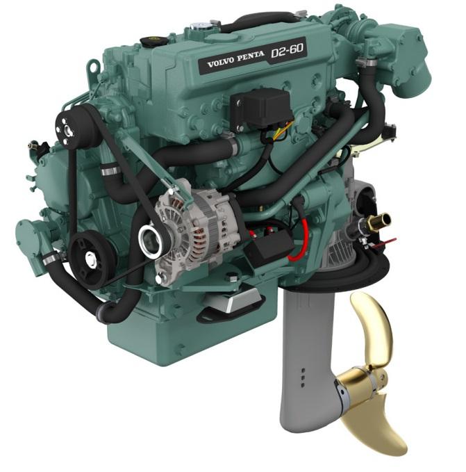 Dieselmotor D2-60 med S-drev 150S