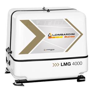 Elverk Lombardini LMG 4000 - 4 kVA / 3,2 kW