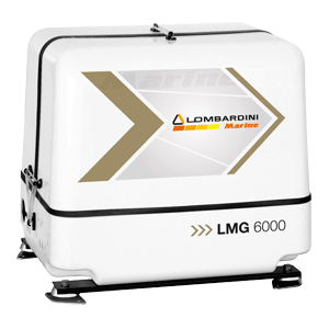 Elverk Lombardini LMG 6000 - 6 kVA / 5 kW