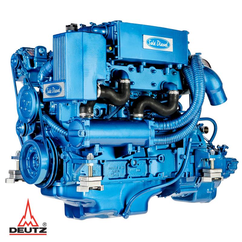 Solé SDZ 165 (160 hk - 2300 rpm)