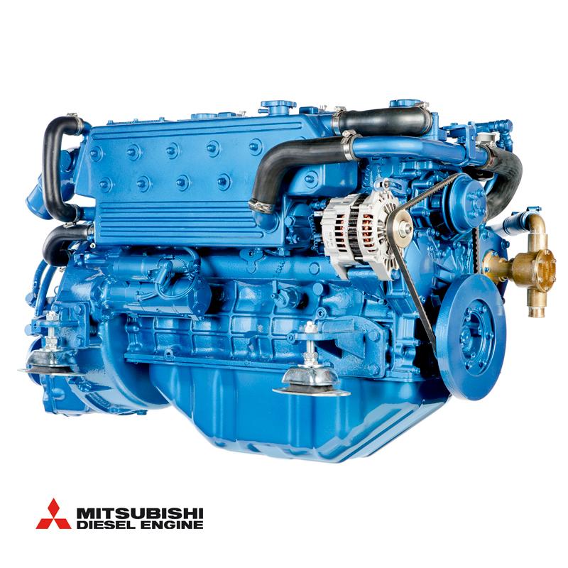 Solé SM103 (103 hk - 2500 rpm) med backslag TM93 hydraulisk rak