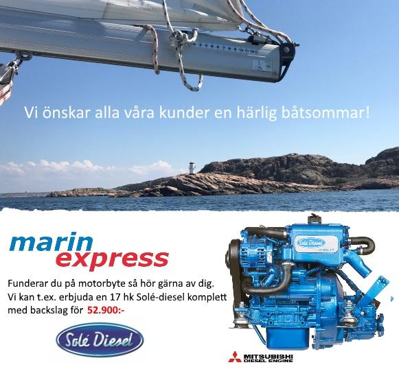 ha en härlig båtsommar önskar Marinexpress AB