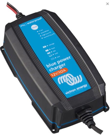 Batteriladdare & batteriövervakning